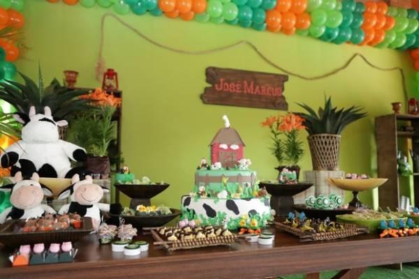Veja fotos do aniversário de 1 aninho de José Marcus, filho de Wanessa