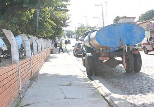 Timon: Reservatório opera a 40% da capacidade e falta água a moradores da cidade