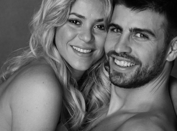 Novas fotos mostram o barrigão de Shakira ao lado de Piqué