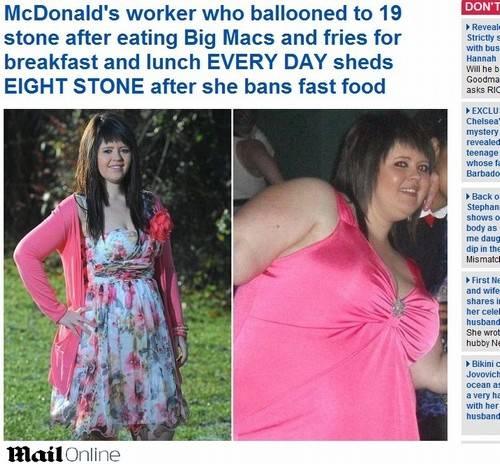 Funcionária do McDonald