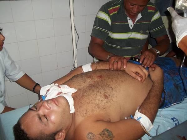 Homem morre no HUT após ser esfaqueado no pescoço por companheiro