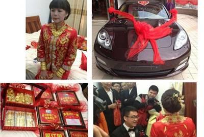 Magnata chinês dá R$ 300 milhões em presentes à filha recém-casada