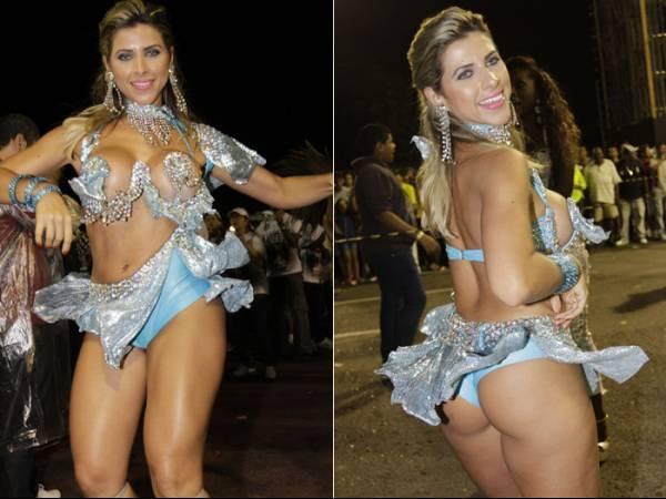 Ana Paula Minerato aposta em shortinho para não mostrar demais