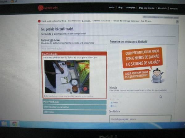 Restaurante usa webcam na cozinha para ter confiança de clientes