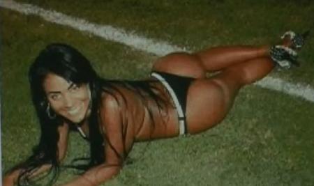 Ex-musa do Atlético Mineiro é presa em flagrante acusada de furtos