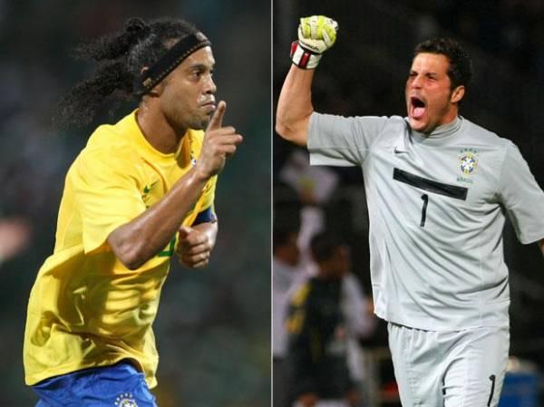 Felipão convoca Ronaldinho Gaucho e Julio César; veja a lista!