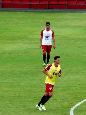Ganso perde lugar para Aloísio em treino, e Ney Franco resgata 4-3-3