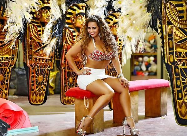 Viviane Araújo: Seu primeiro Carnaval como milionária