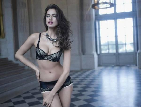 Namorada de CR7 posa com coleção de lingerie para o Dia dos Namorados