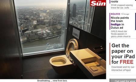 Casais fazem sexo em banheiro do prédio mais alto da Europa Ocidental