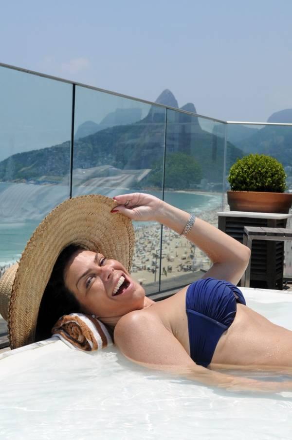Garota do Fantástico dos anos 80, Gisele Fraga faz 43 anos
