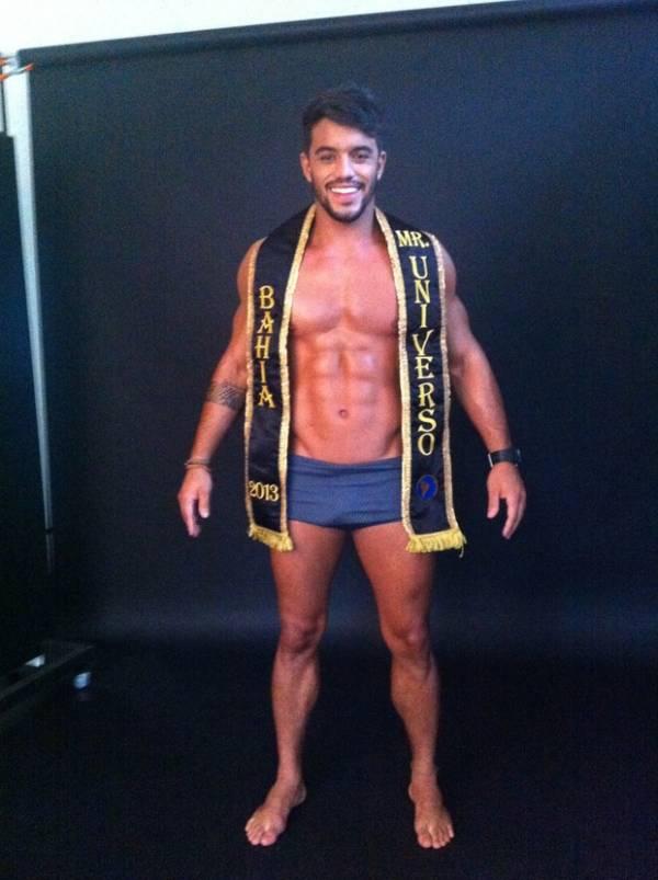 André, ex-Casa de Vidro, posa para campanha do Mister Universo Brasil