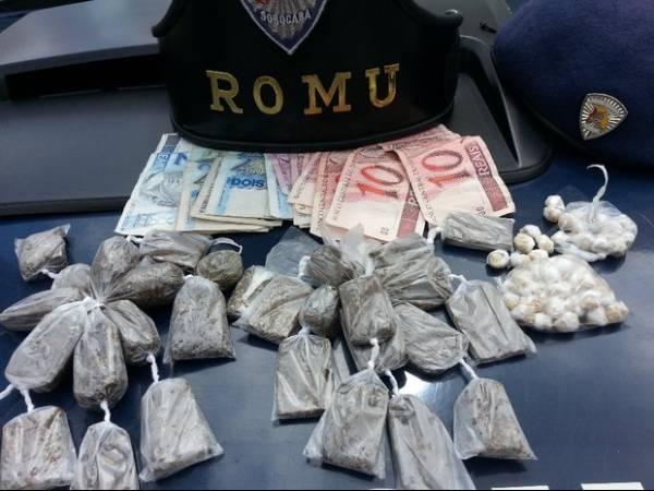 Crianças são detidas por tráfico de drogas