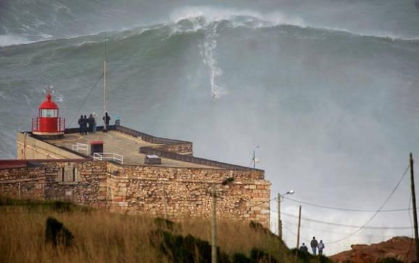 Americano tenta confirmar recorde de maior onda de todos os tempos