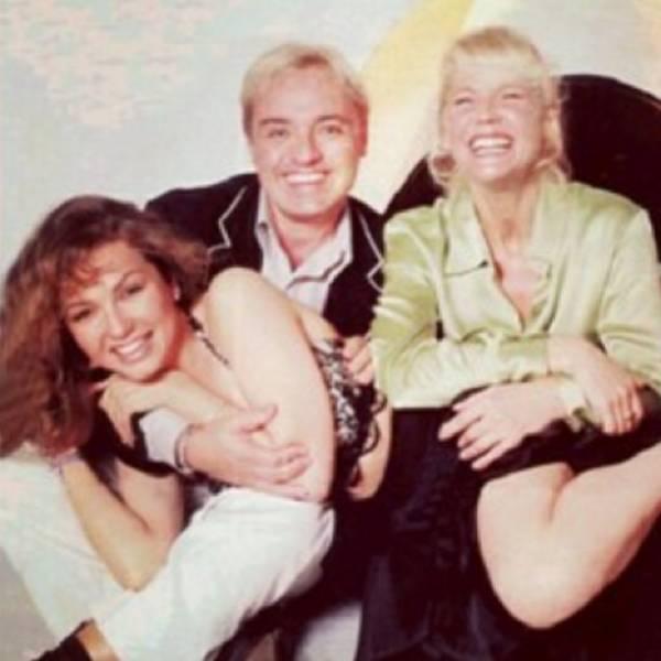 Túnel do tempo: Gugu posta foto ao lado de Xuxa e Thalia