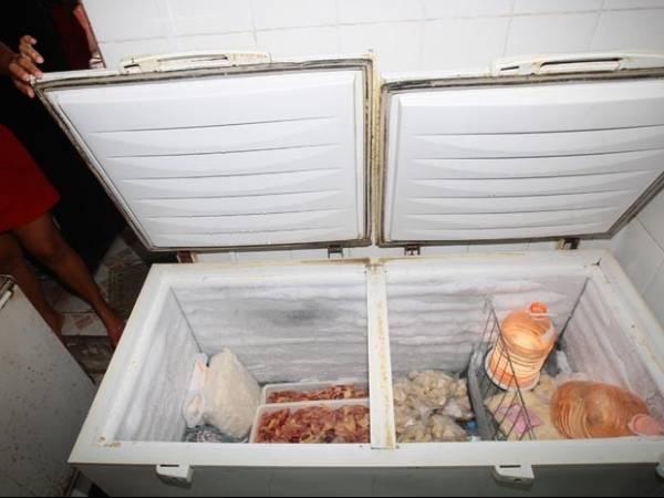 Jovem é preso após roubar doceria e se esconder no freezer