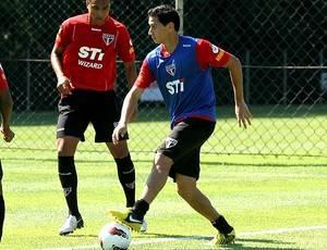 Para suprir perda de Lucas, Ney Franco pede Ganso mais perto do gol