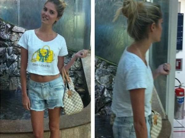 Bárbara Evans posta foto em que aparece mais magra