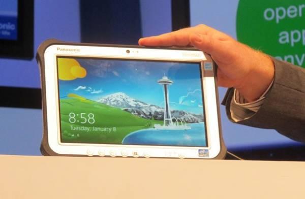 Panasonic amplia linha de tablets robustos com Windows 8