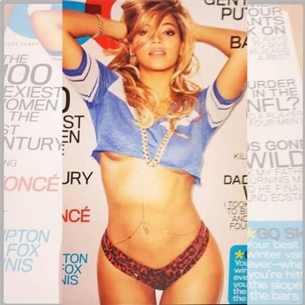 Vaza foto do 1º ensaio sensual de Beyoncé após dar à luz