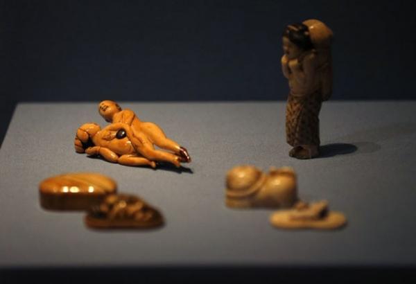 Figuras eróticas são atração de exposição em museu britânico