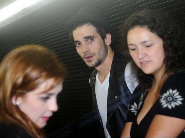 Sophia Abrahão e Fiuk deixam juntos premiação em São Paulo