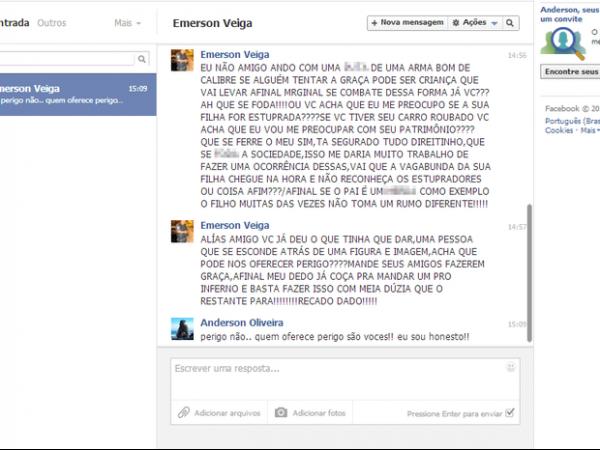 PM do RJ apura suposta ameaça de policial a internauta no Facebook