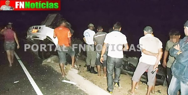 Jovem de Paulistana morre após Carro-pipa capotar violentamente na PI-459