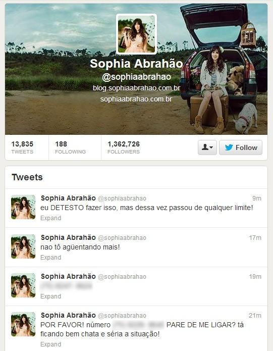 Sophia Abrahão se irrita com ligações e desabafa: