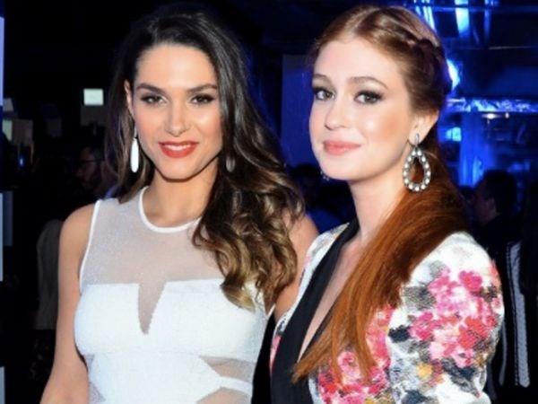 Fernanda Machado e Marina Ruy Barbosa se evitam em festa, diz colunista