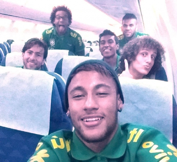 Neymar registra