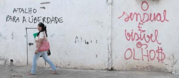 Arte no concreto de Teresina: frases nos muros representam anseios da população