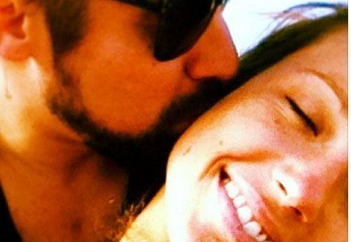Juliana Didone recebe homenagem do namorado em rede social