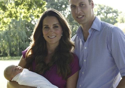 Kate e William escolhem amigos para serem os padrinhos do filho George
