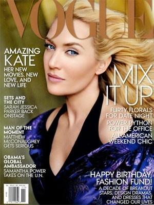Revista é criticada por excesso de Photoshop em capa com Kate Winslet