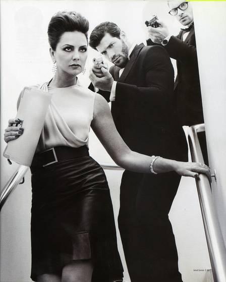 Luiza Brunet posa com modelos bonitões aos 51 anos e entrega pedido de casamento do empresário Lírio Parisotto
