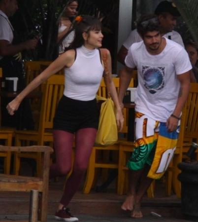Caio Castro exige relação aberta com atriz