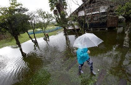 Passagem do tufão Wipha deixa 17 mortos e 45 desaparecidos no Japão
