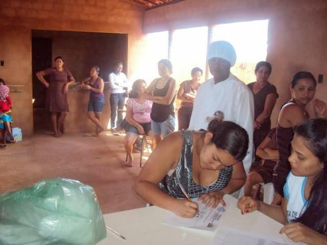 Comunidades de São João da Canabrava recebem alimentos