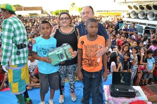 Festa dia das Crianças Prefeitura de Paulistana foi um sucesso - Imagem 9