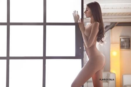 Jogadora de basquete, Valentina Vignali é a capa da Playboy italiana de outubro
