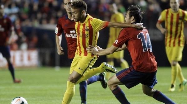 Barça só empata em dia de Neymar pouco inspirado e retorno de Messi