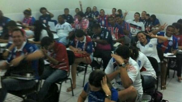 Amor a toda prova: alunos se vestem de Bahia por