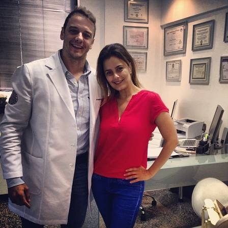 Luciele Di Camargo emagrece três quilos com a ajuda do ex-BBB Rogério Padovan: ?Quero definir meu corpo em um mês?