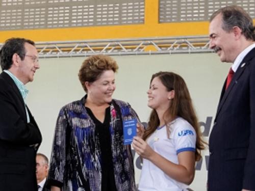 Presidenta Dilma afirma que o Brasil precisa de técnicos para desenvolver