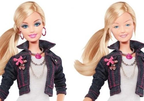 Barbie: artistas criam imagens em que a boneca aparece sem maquiagem