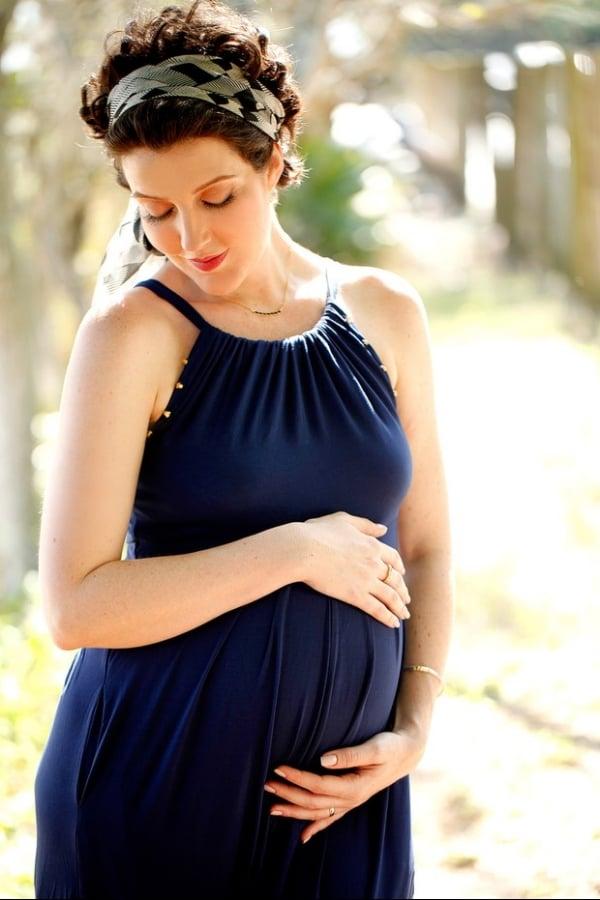 Grávida de 6 meses, Larissa Maciel diz que gestação trouxe 5 kg e