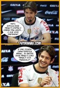 Piadas sofre Alexandre Pato caem na internet