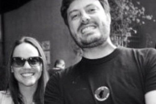 Comediante Danilo Gentili termina seu namoro com a jornalista Priscila Gomes