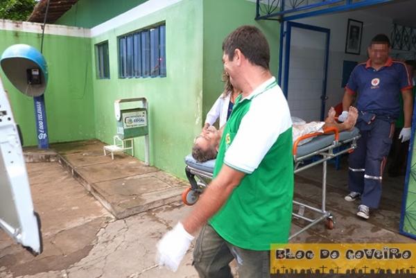 Idoso fica gravemente ferido após disparo acidental de arma de fogo em Cocal